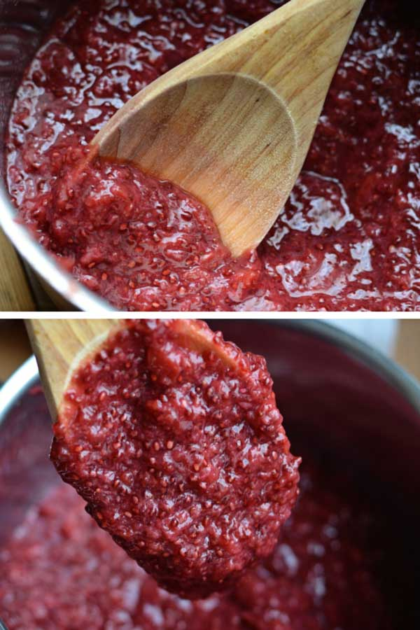 Berry Cherry Chia Seed Jam - Imagine a jam that's refined sugar-free, that actually tastes like fruit and is really easy to make. All you need is fruit, chia seeds and a liquid sweetener.