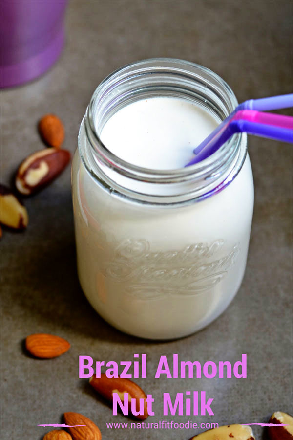 brazil almond nut milk