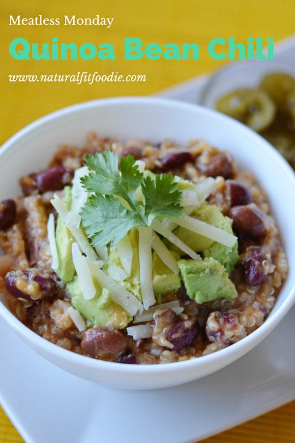 quinoa bean chili