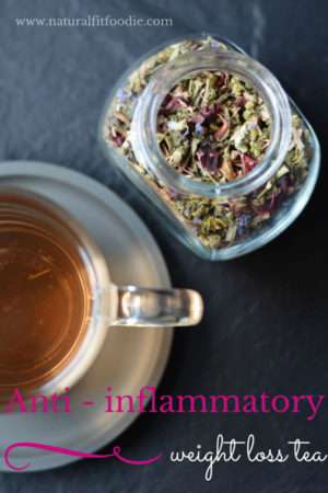 Anti inflammatory weight loss tea - To speed weight loss try sipping this anti-inflammatory weight loss tea. It speeds detox and helps flush excess fluids!