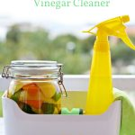 Diy All Purpose Citrus Vinegar Cleaner Natural Fit Foodie