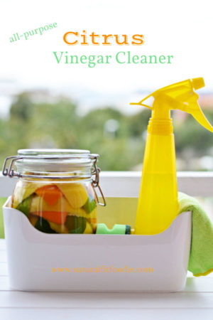 DIY All Purpose Citrus Vinegar Cleaner