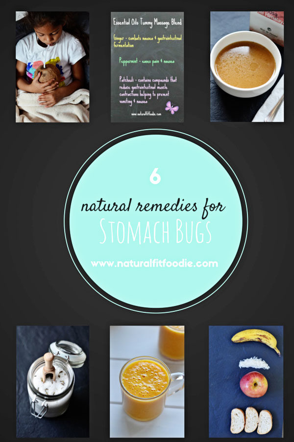 natural remedies for the stomach bug