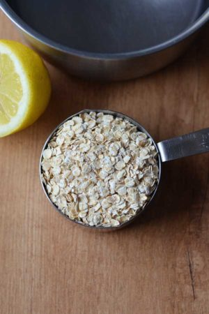 soaked coconut oil oatmeal