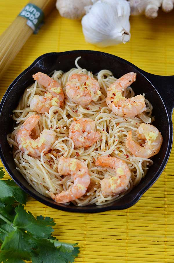 Quick and Easy Garlic Shrimp