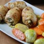 goat cheese and spinach stuffed chicken breast