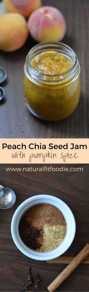 peach chia seed jam