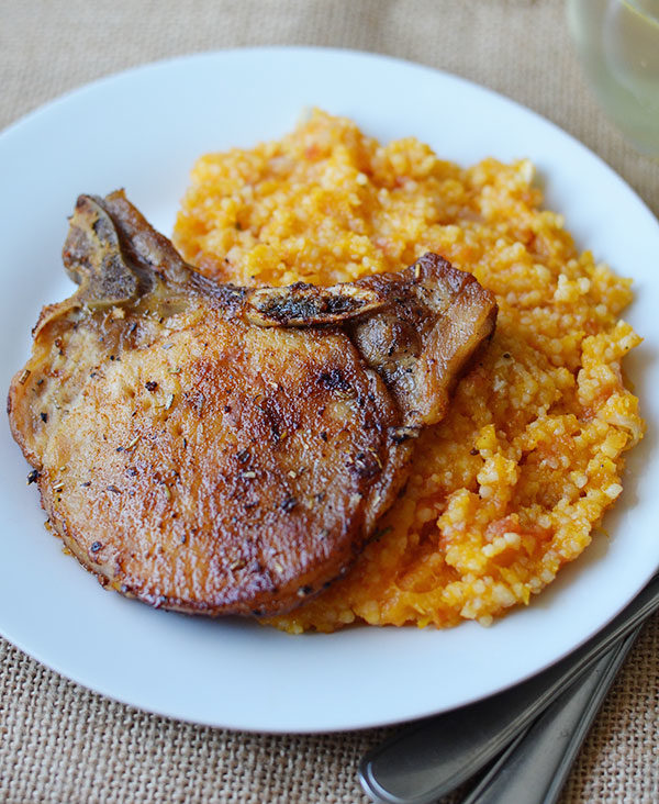 Gone are the days of tough, dry pork. Say hello to succulent, juicy pork chops! These easy skillet pork chops will have you begging for seconds.
