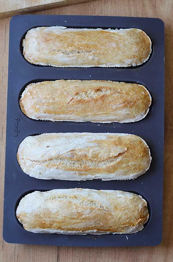 newbie gluten free baguettes
