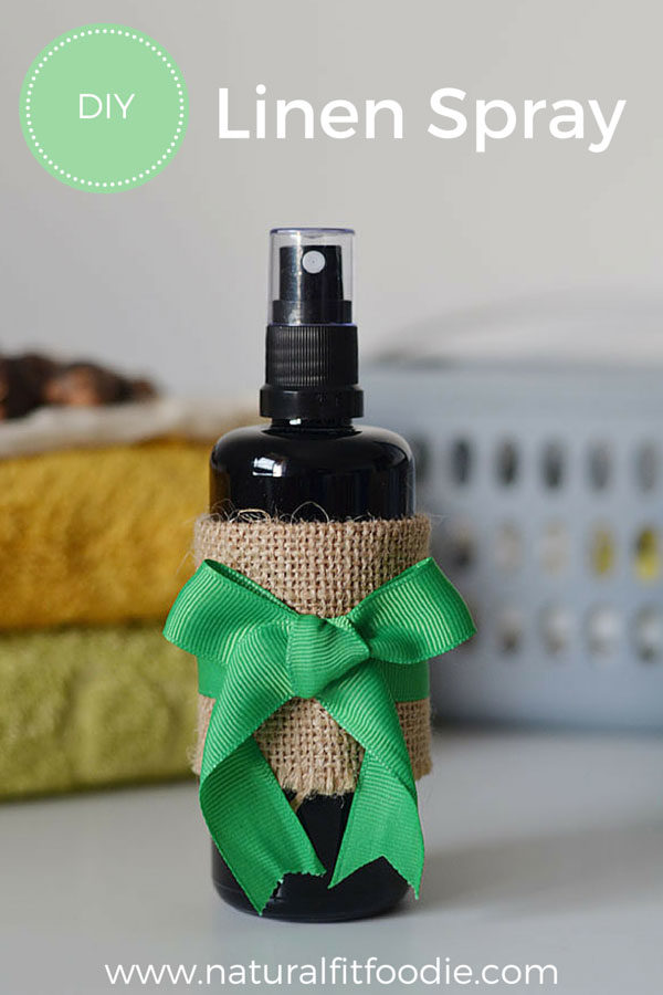 DIY Linen Spray - Ditch those toxic fabric softeners and dryer sheets! This DIY Linen Spray is a safe natural alternative and will leave your clothes with a wonderful natural scent!