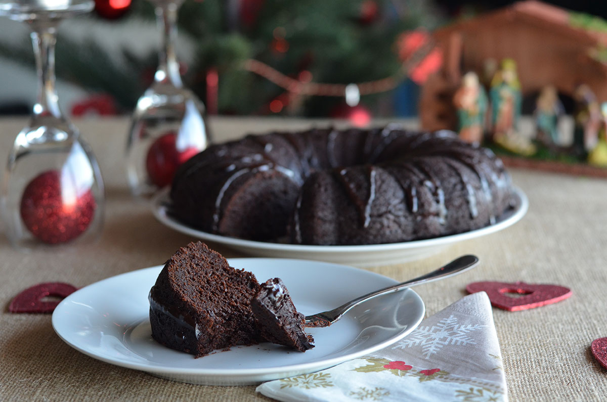 Drunken Chocolate Fruit Cake Natural Fit Foodie