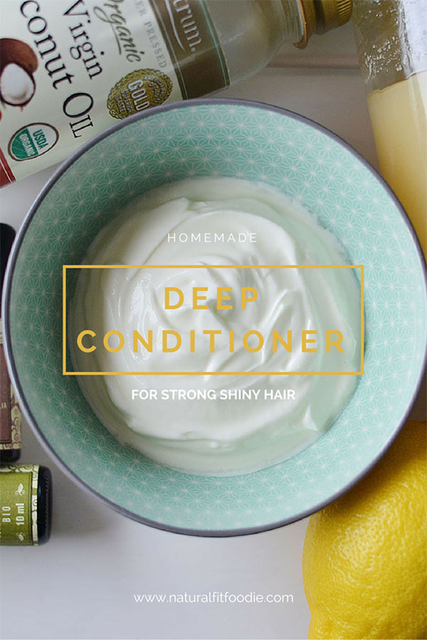 Homemade Deep Conditioner