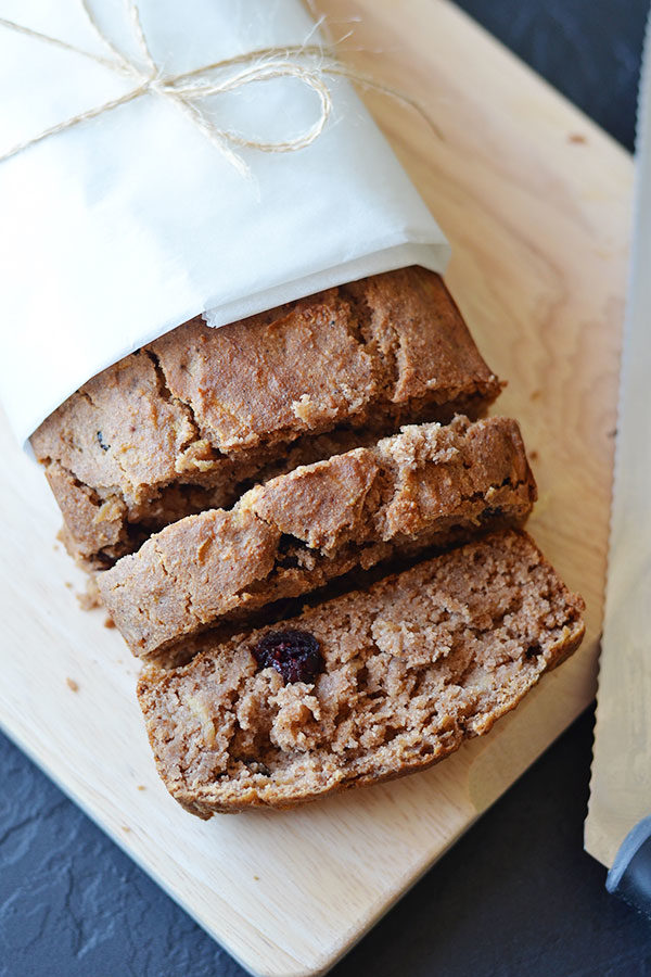 Gluten Free Apple Bread - Enjoy this delicious gluten free apple bread with your mid morning coffee or as an afternoon treat for the kids!