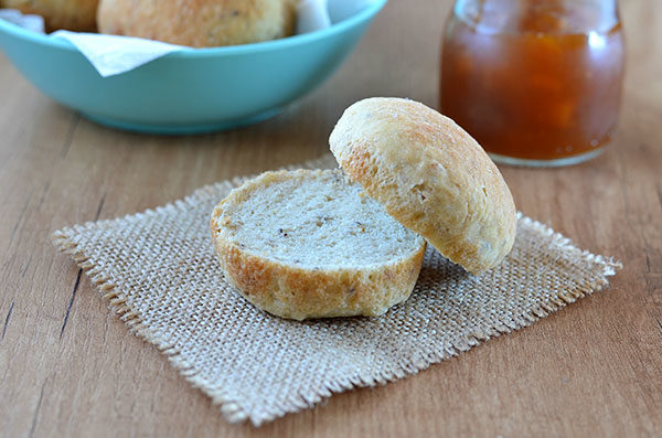Gluten Free Bread Rolls - These gluten free bread rolls are super soft and fluffy. Why not serve them for Thanksgiving dinner? Or with some jam for an easy breakfast. They're super easy to make and no one will even know they're gluten free, egg free and vegan!