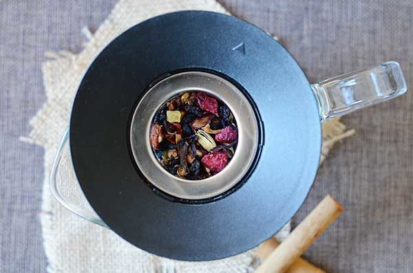 Mulled Hibiscus Tea - Being able to sip on this mulled hibiscus tea all day is a real winter treat and helps me appreciate the season.