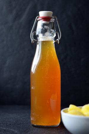 Pineapple-Ginger-Kombucha