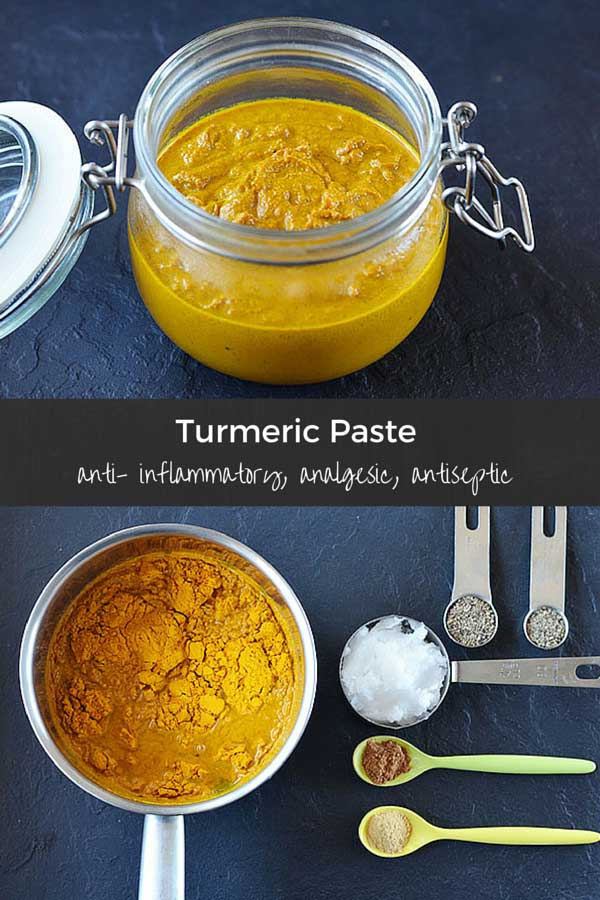 Turmeric paste recipe - Learn how to make the most out of turmeric. A truly powerful healer, turmeric supports joint function, improves digestion, and has skin enhancing properties. Use turmeric paste to make golden milk, smoothies, teas and more.