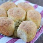 Gluten free garlic herb dinner rolls recipe - These gluten free garlic herb dinner rolls are bursting with flavor! They're crusty on the outside, soft and fluffy on the inside.