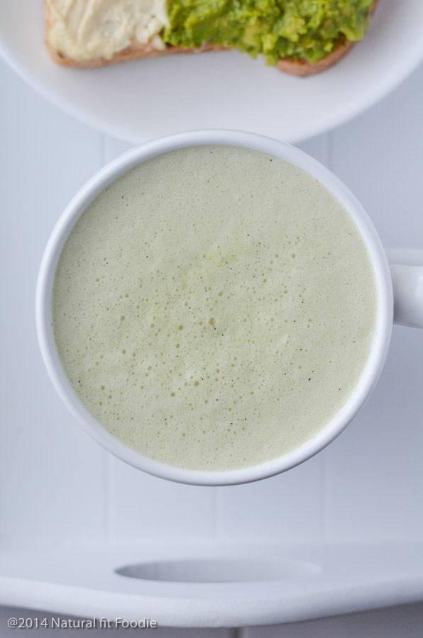 This Supercharged Matcha Green Tea is a delicious way to add powerful health benefits to your everyday diet! It's your gut healing, energy boosting meal in a cup!