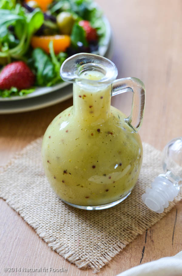 Apple Cider Vinaigrette - Natural Fit Foodie