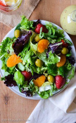 Summer Mixed Green Salad
