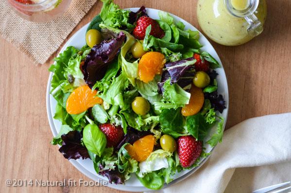 Mixed Green Summer Salad-8