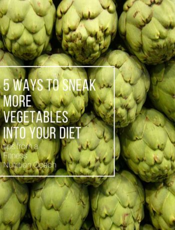 how to sneak more vegetables into your diet