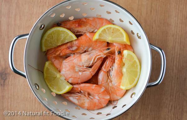 Shrimp with Swiss Chard-4