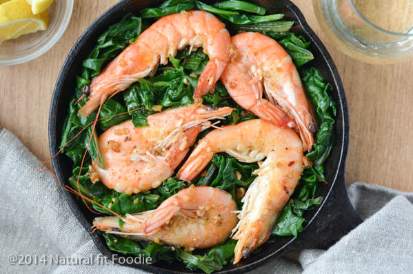 Shrimp with Swiss Chard-6