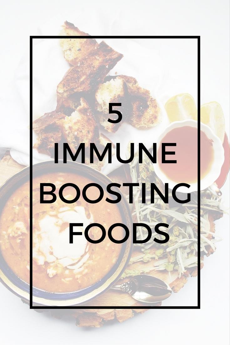 5 Immune Boosting Foods