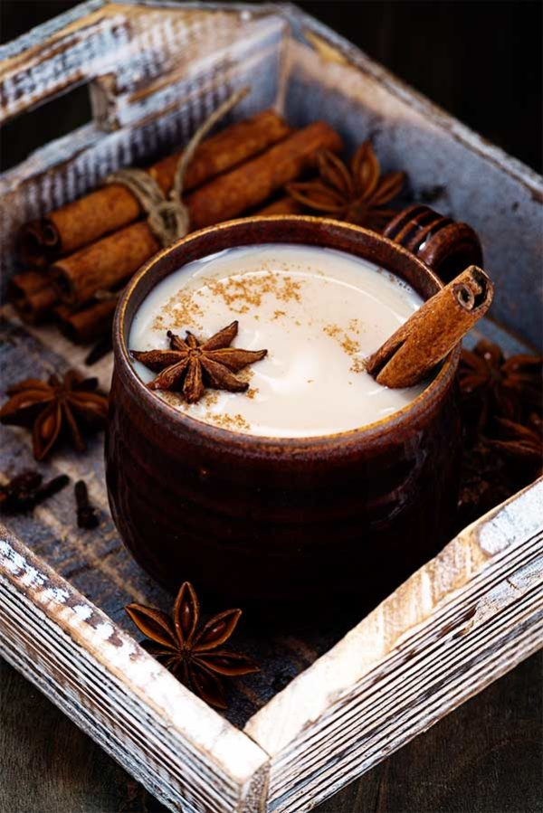 Chai Latte - 5 tasty teas to replace your morning coffee
