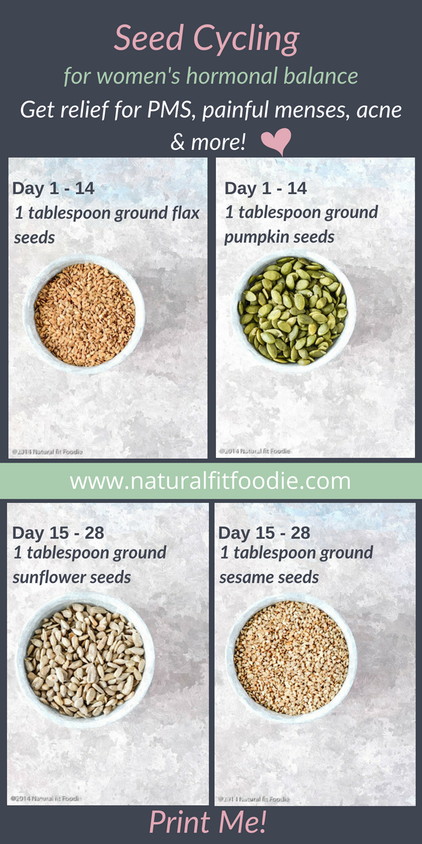 Seed Cycling for Balanced Hormones
