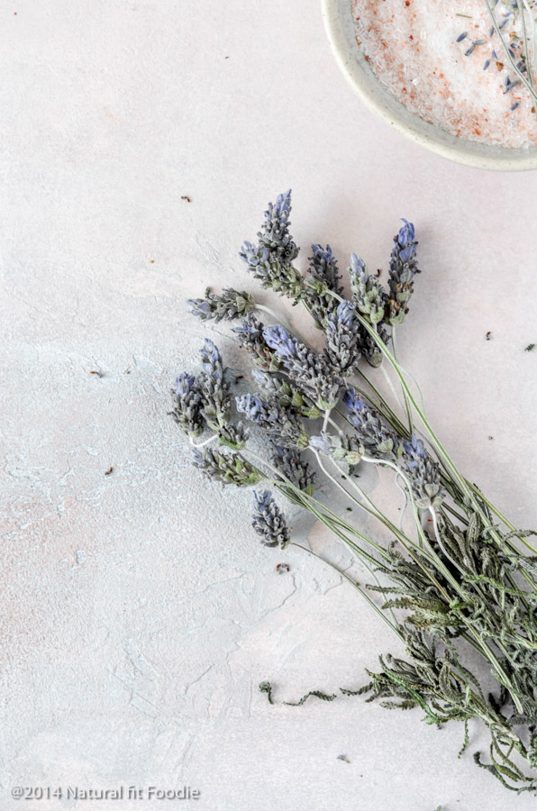 Lavender Epsom Salt Bath Recipe - Natural Fit Foodie