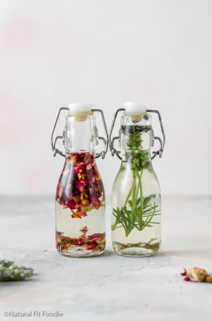 Luxurious DIY Herbal Body Oil (natural body lotion alternative)