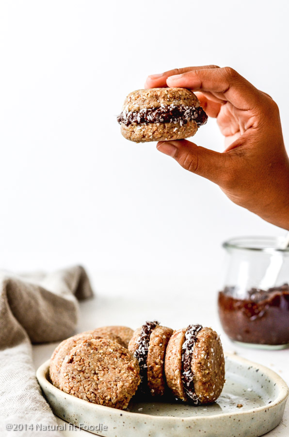 No Bake Sandwich Cookies