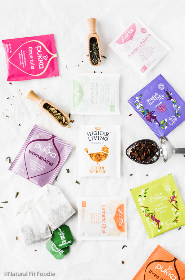 Tea options for Hormone Balancing Tea Latte